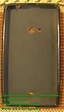 Nokia 625, силіконовий чохол чорний, фото 5