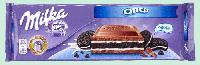 Шоколад молочный Milka Oreo (милка с ванильным печеньем), 300 гр