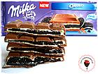 Шоколад молочний Milka Oreo (мілка з ванільним печивом), 300 гр, фото 3