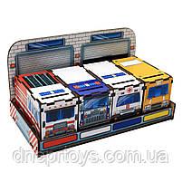 Чарівний комодик «Службовий транспорт», дерев'яна іграшка, Ань-Янь, 12 * 23 * 12 см, від 3 років, (ПСФ027), фото 3