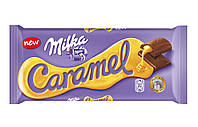 Шоколад молочный Milka Caramel (милка с карамелью), 300 гр