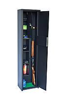 Сейф оружейный на два ружья с длинным трейзером - С-242