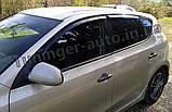 Дефлектори вікон (вітровики) Hyundai i30 HB 2007-2012 (Autoclover A102), фото 4