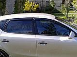 Дефлекторы окон (ветровики) Hyundai i30 HB 2007-2012 (Autoclover A102), фото 5
