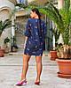 Жіноча легка літня туніка з хлопкової тканини, великі розміри, від 48 до 58, фото 3
