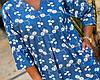 Женская легкая летняя туника из хлопковой ткани, большие размеры,  от 48 до 58, фото 2