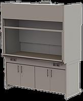 Вытяжной шкаф лабораторный ШВЛ-02 1200х800х2200