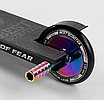 "Трюковий самокат Best Scooter 97683 ""Simbiote"" чорний-неохром, фото 9"