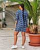 Женская легкая летняя туника из хлопковой ткани, большие размеры,  от 48 до 58, фото 5