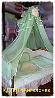 Комплект в детскую кроватку Ангелочек