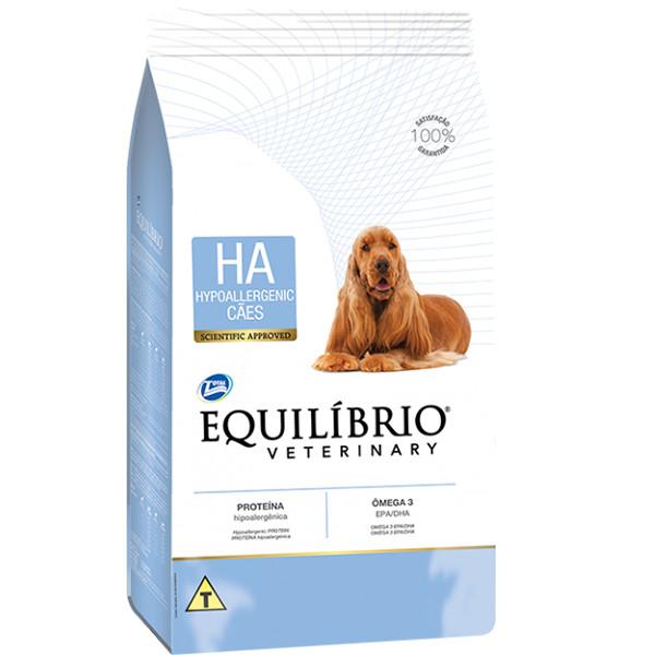 Гипоаллергенный лечебный корм для собак Equilibrio Veterinary Dog Hypoallergenic 7,5 кг