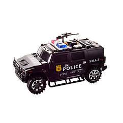 Дитячий сейф-скарбничка Машинка Metr+ 143ST (Чорний)