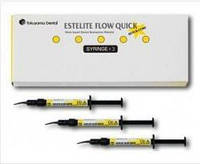 ESTELITE FLOW QUICK L SYRINGE KIT, Tokuyama Dental (Естелайт Флов Квік НАБIР 3 шпр. по 3,6 гр.)