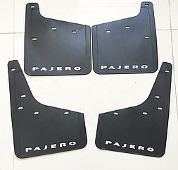 Брызговики для Mitsubishi Pajero Wagon 4/Митсубиси Паджеро Вагон 4 2006-2019 комплект 4 шт