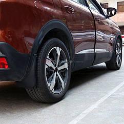 Брызговики  Peugeot 3008/4008 /Пежо 3008/4008 2017-2020 (полный кт 4-шт), кт.