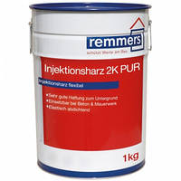 Эластичная 2-компонентная полиуретановая смола для инъектирования Injektionsharz 2K PUR