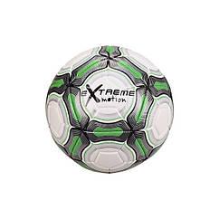 """Мяч футбольный """"Extreme Motion"""" Metr+ FB20152  21,8 см 420 г. (Зеленый)"""