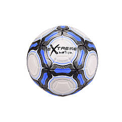 """Мяч футбольный """"Extreme Motion"""" Metr+ FB20152  21,8 см 420 г. (Синий)"""