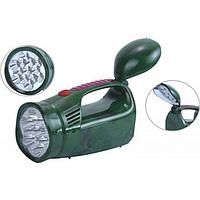 Ліхтар світлодіодний акумуляторний YJ-2809 Зелений