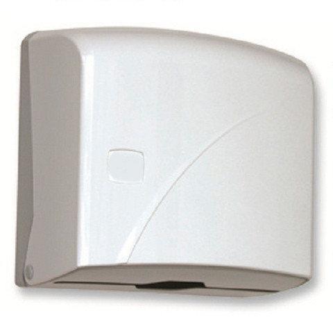 (К.40) Диспенсер под бумажные полотенца, белый