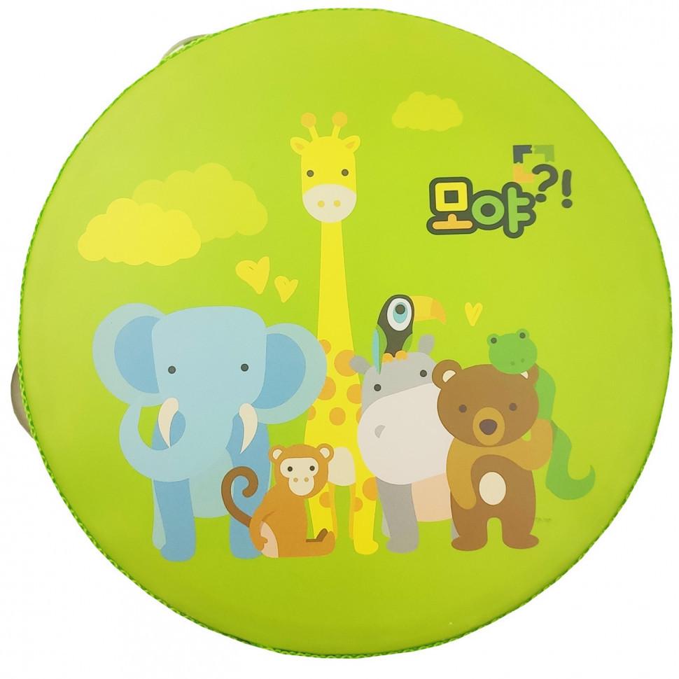 Дерев'яна іграшка Бубон Metr+ MD 0367 (Дикі Тварини)