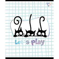 Тетрадь А5 18 Кл. YES Playful Kitties уп/10шт