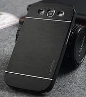 """Черный чехол """"Motomo"""" для Samsung GalaxyS3 (i9300)"""