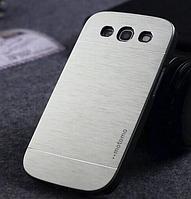 """Серебристый чехол """"Motomo"""" для Samsung GalaxyS3 (i9300) , фото 1"""