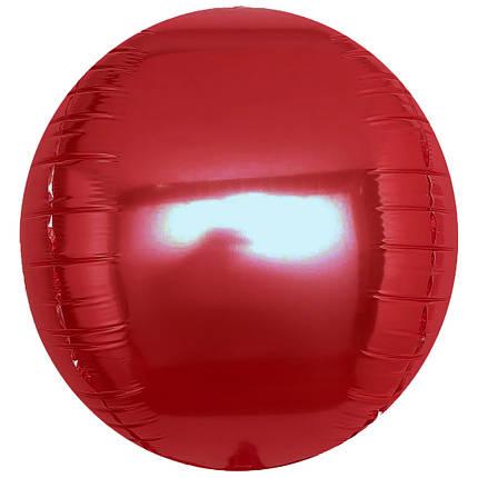 """Сфера 22"""" КИТАЙ-КТ Металлик бордовый, фото 2"""