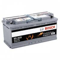 Аккумулятор S5 AGM SILVER 105 А*ч -/+ 950A