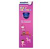 Електрична зубна щітка дитяча Nevadent NKZ 3 A1 + пісочний годинник + насадки + футляр + наклейки, фото 4