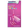 Електрична зубна щітка дитяча Nevadent NKZ 3 A1 + пісочний годинник + насадки + футляр + наклейки, фото 3