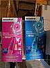 Електрична зубна щітка дитяча Nevadent NKZ 3 A1 + пісочний годинник + насадки + футляр + наклейки, фото 5