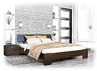 Современная деревянная кровать Титан, фото 1