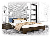 Современная деревянная кровать Титан