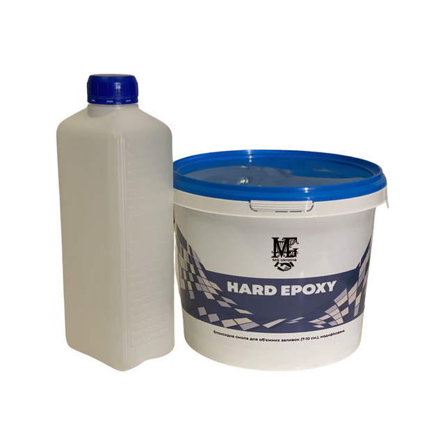 Епоксидна смола HARD EPOXY для об'ємних заливок