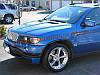 Юбка передняя на BMW X5 E53 1999-06