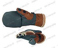 Мужские Рыбацкие Теплые Практичные Перчатки-варежки Norfin 703025 Aurora Лучшие зимние подарки