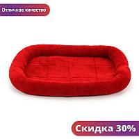 """Лежак для домашних животных Hoopet HY-1044 Red L коврик-лежанка котов """"Wr"""""""