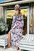 Модный женский пляжный костюм топ, юбка и повязка на голову, фото 6