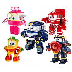 Трансформер DT-005 (120шт|2) Robot Trains, 5 видів мікс, в кор 15*9*14 см