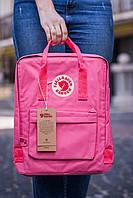 Рюкзак Fjallraven Kanken Classic (Фьялравен Канкен Класик) Pink / Рожевий