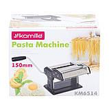 Локшинорізка Kamille KM-6514 150mm настільна механічна з нержавіючої сталі, фото 10