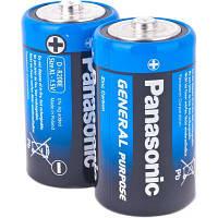 Батарейка PANASONIC R20 24шт/уп.