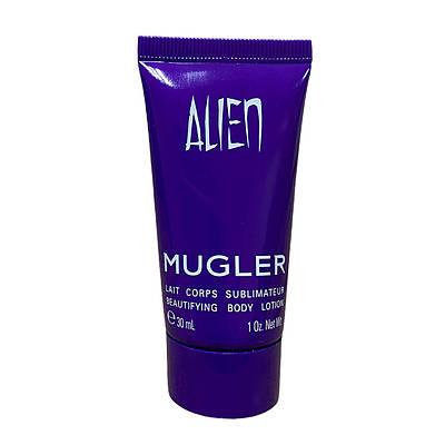 Зволожуючий парфумований лосьйон для тiла Thierry Mugler Alien body lotion 30ml, східний деревний аромат