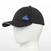 Бейсболка Лакоста Adidas (репліка) чорний+синій