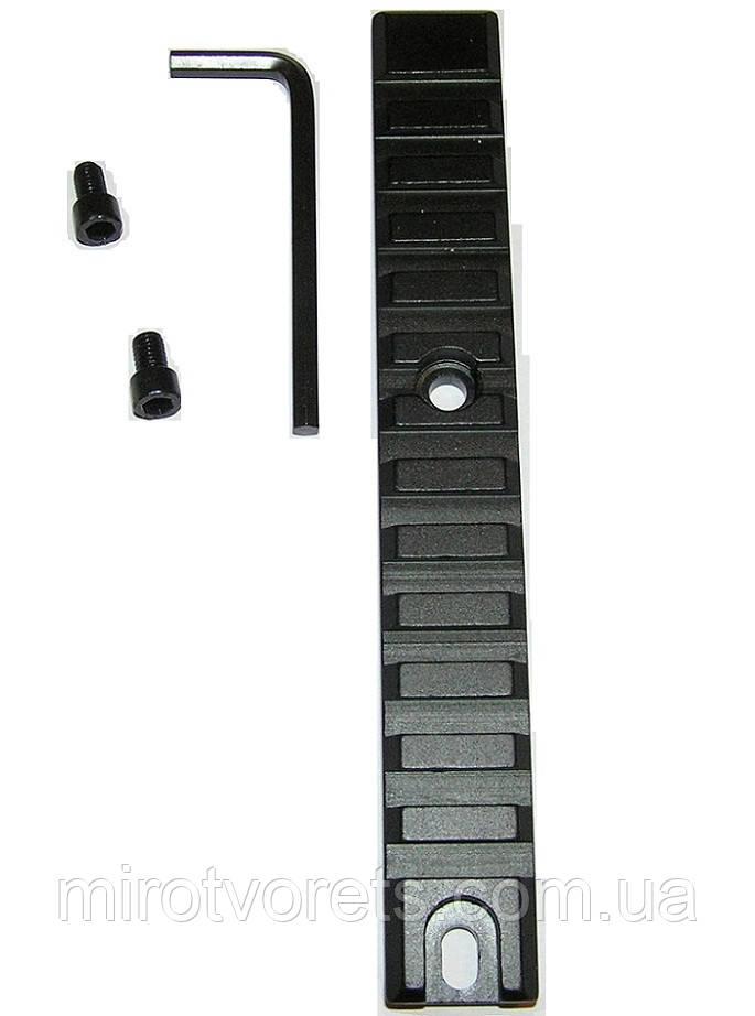 Планка Weaver/Picatinny 11 мм (Вивер\Пикатини)