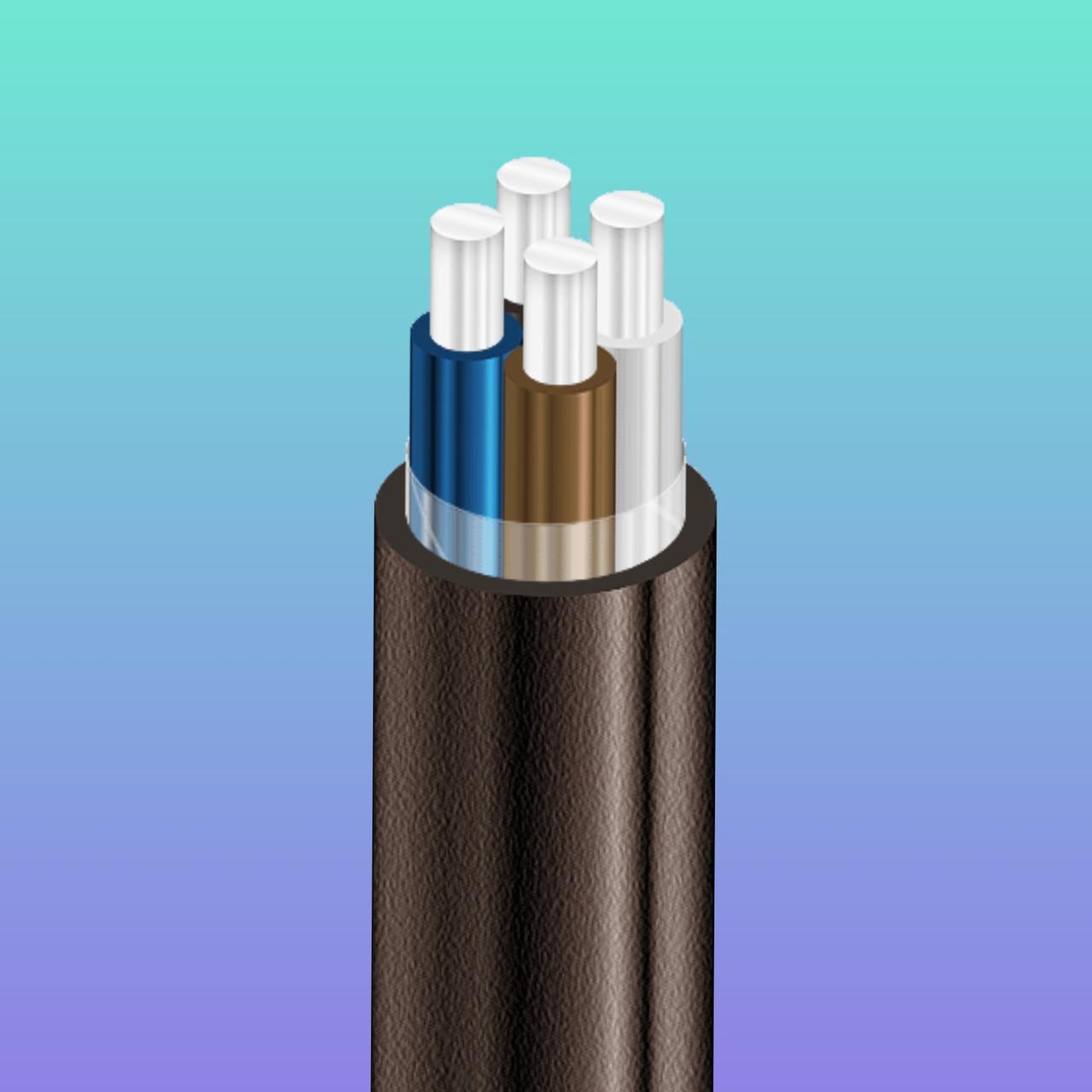 Силовой кабель алюминиевый АВВГ 4х50