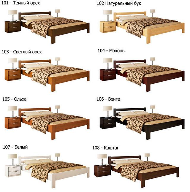 Купити Ліжко Рената (Бук)