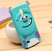 Силиконовый чехол Монстр для Samsung S4 i9500